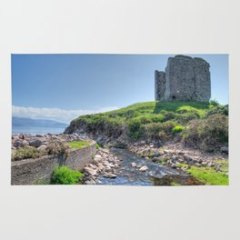 Minard Castle, Ireland Rug