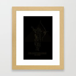 The Egyptian Eagle Framed Art Print