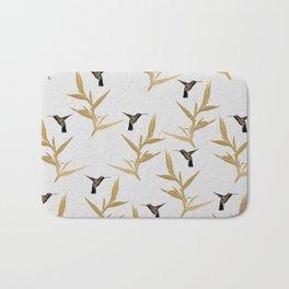 Hummingbird & Flower II Bath Mat