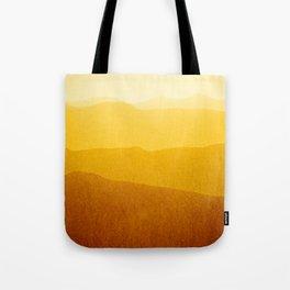 gradient landscape - sunshine edit Tote Bag