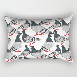 Pigeon Power Rectangular Pillow