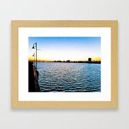 Smooth Sailing Framed Art Print