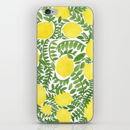 The Fresh Lemon iPhone Skin