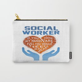 Social Worker Carry-All Pouch