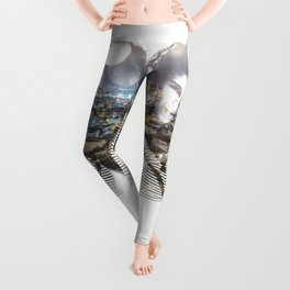 double exposure PV - C Leggings