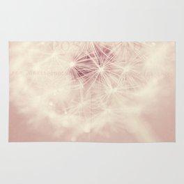 dandelion postcard Rug