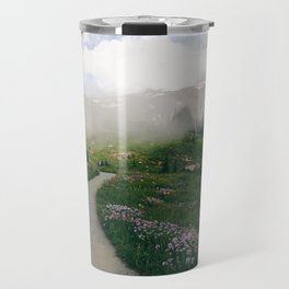Mt Rainier Path Travel Mug