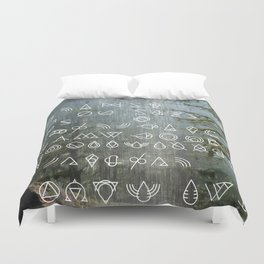 WFS Mandate 00234: Return to the Land of Saturated Bundles™ Duvet Cover