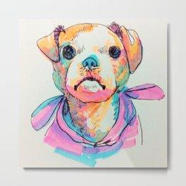 Mignon puppy Tori ♥ Metal Print