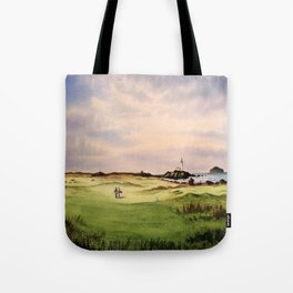 Turnberry Golf Course 12th Hole Tote Bag