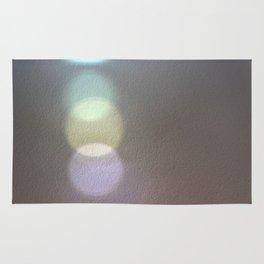 Light Prism Reflection Photo Art Design Rug