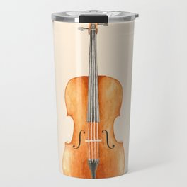 Cello - Watercolors Travel Mug
