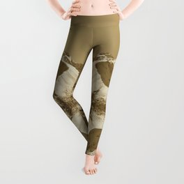 Majestic Mountain - Sepia Leggings