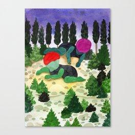 wood children Canvas Print