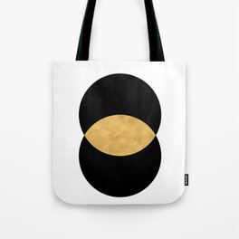 VESICA PISCES CIRCLE ABSTRACT GEOMETRIC SYMBOL Tote Bag