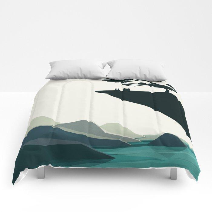 beauty trumped vertigo Comforters