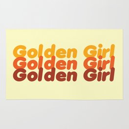 The Golden Girl Rug