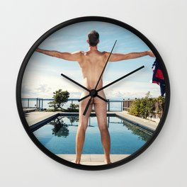 Freedom In Summer Wall Clock