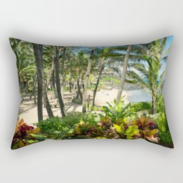 Kuau Beach Cove Paia Maui Hawaii Rectangular Pillow