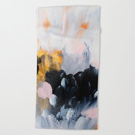 formation: bliss Beach Towel