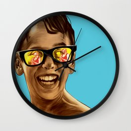 This Magic Moment 2 Wall Clock