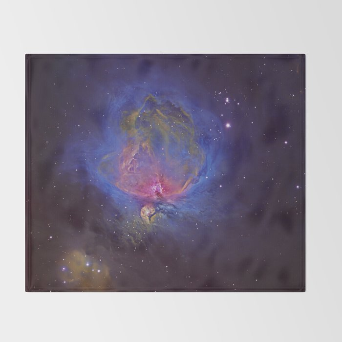 The Great Orion Nebula Throw Blanket