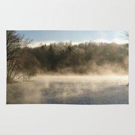 Ghostly Lake Rug