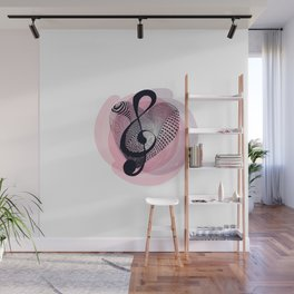 Love for music Wall Mural