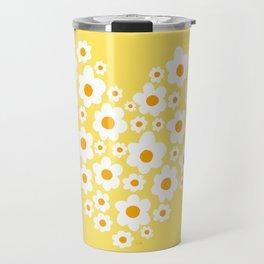 Floral Heart Travel Mug
