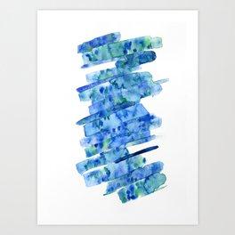 Watersplat - Series 2, 01 Art Print
