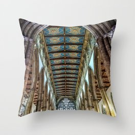 Hull Trinity Cathedral Throw Pillow