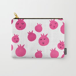 Sweet Pink Pomegranates Carry-All Pouch