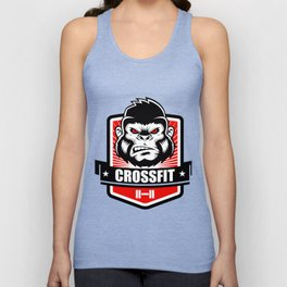 Gorilla fitness gym and sport Unisex Tank Top