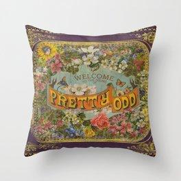 Pretty Odd Throw Pillow