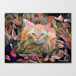 Alice's Cat Canvas Print
