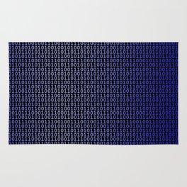 Binary Blue Rug