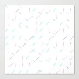 Sprinkle_Generative01 Canvas Print