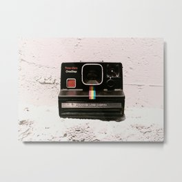 TimeZero OneStep Land Camera, 1981 Metal Print