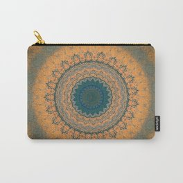 Bohemian Orange Carry-All Pouch