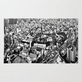 tokyo city view Rug
