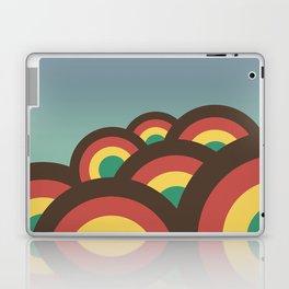 Foothills on warm blue - 70´s Laptop & iPad Skin