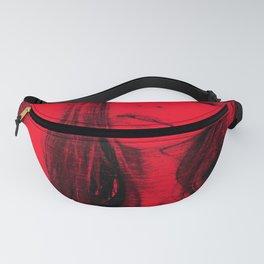 Lady in Red Mezzopop Fanny Pack