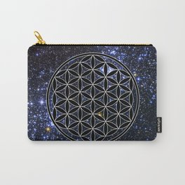 Flower of life in the space Carry-All Pouch