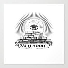 YALLUMINATI Canvas Print