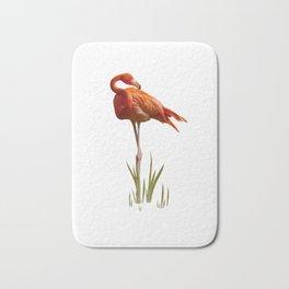 The Florida Flamingo Bath Mat