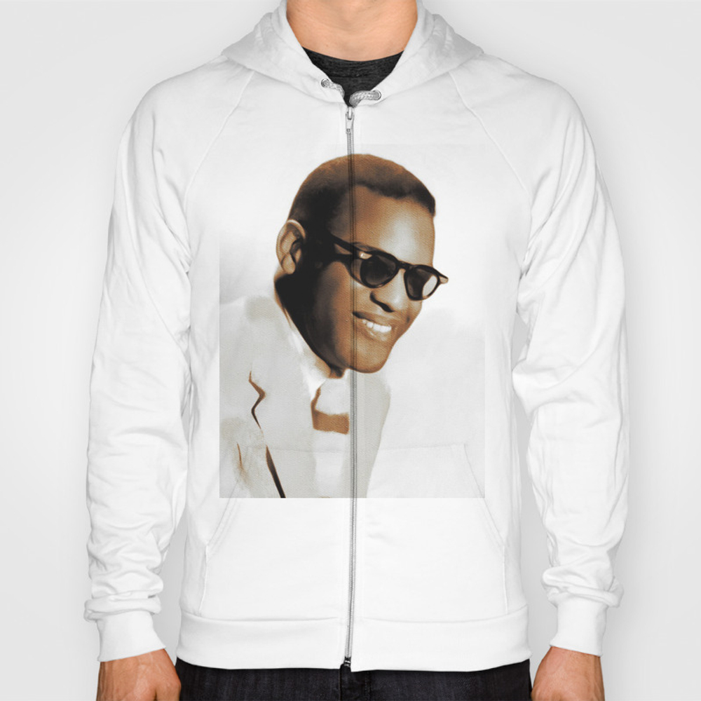 Ray Charles, Music Legend Hoody by Esotericaartagency SSR8697553
