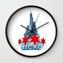 The Windy City Wall Clock