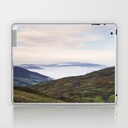 Cloud inversion over Ambleside at sunrise. Cumbria, UK. Laptop & iPad Skin