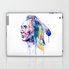 Sioux Warrior Watercolor Laptop & iPad Skin