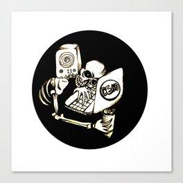 'Til death Canvas Print
